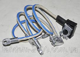 К-т проводов аккумулятора (+ -) со свинцовыми клеммами в сборе 80-3724039-02