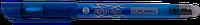 Гелевая ручка пиши-стирай buromax bm.8300-01 синяя erase slim 0.5 mm