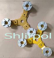Шлифовальные сегменты по бетону для мозаично-шлифовальной машины, фото 1