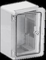 Корпус пластиковый ЩМПп 300х200х130мм прозрачная дверь УХЛ1 IP65 IEK