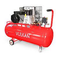 Компрессор поршневой с ременным приводом Vulkan IBL 2070Y 100L