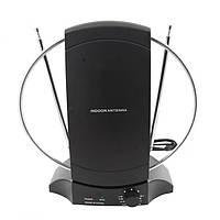 Антенна DVB-T2 Комнатная Eurosky ES-101 всеволновая с усилителем МВ/ДМВ/FM