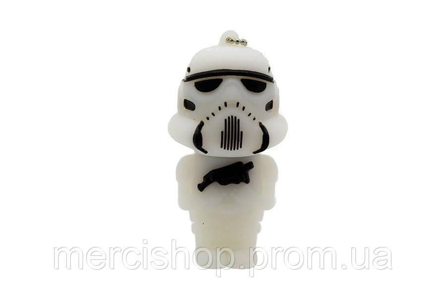 """Флешка-игрушка """"Звездные войны, Штурмовик(белый)"""" 32 Гб"""