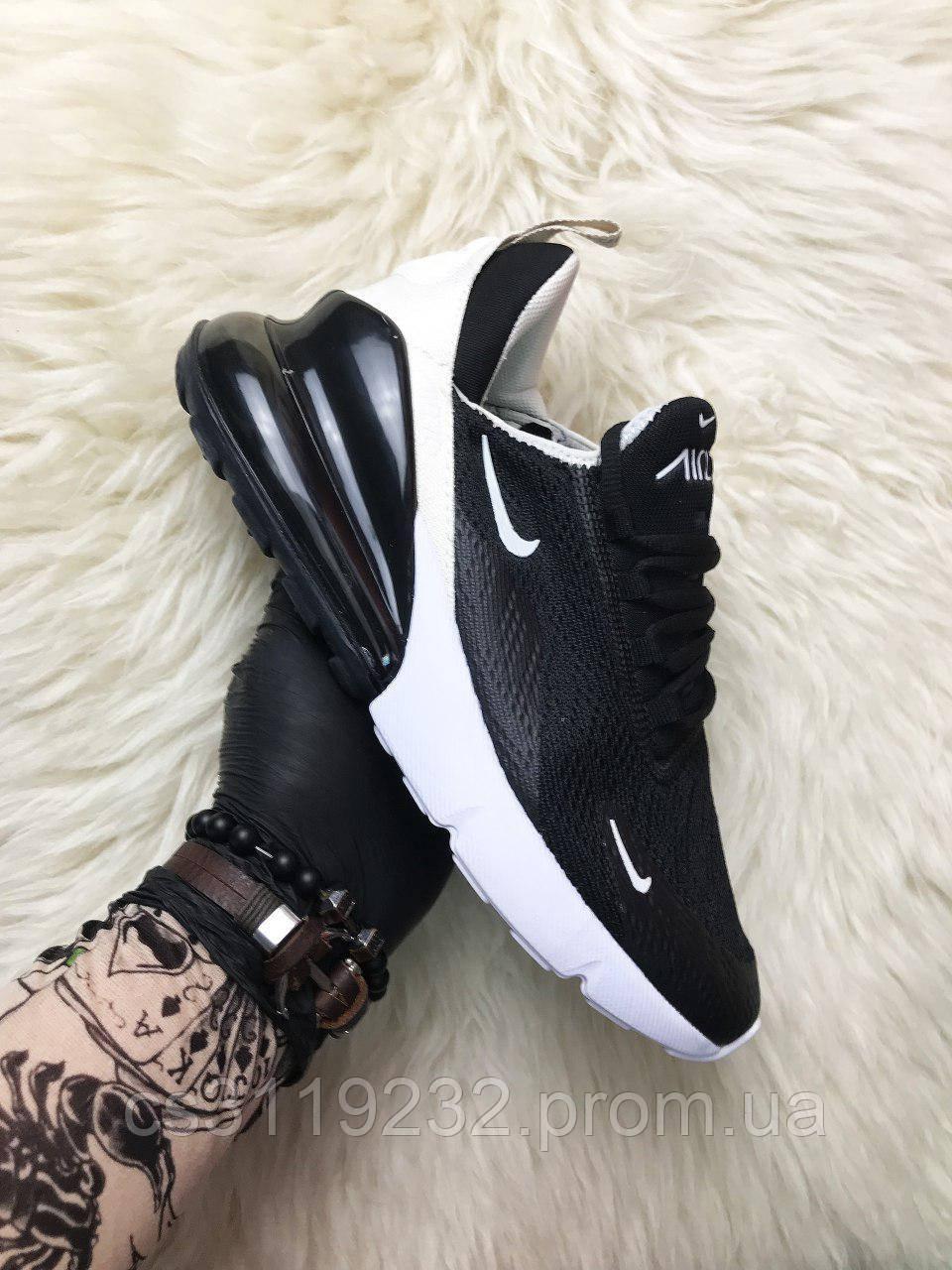 Мужские кроссовки Nike Air Max 270 Black (черные)