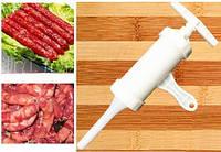 Шприц - наполнитель для начинки колбас, сосисок. Ручной, механический