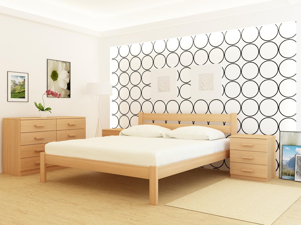 Кровать деревянная YASON Frankfurt (Массив Ольхи либо Ясеня)