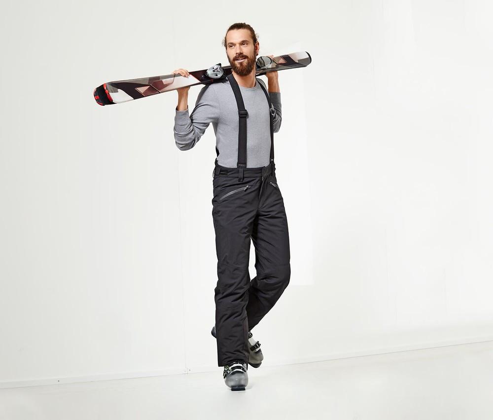 Шикарные теплые функциональные лыжные штаны,брюки ecorepel® от Tchibo(Германия), L,XL