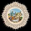 Тарілка дерев`яна. м. Івано-Франківськ