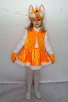 Детский карнавальный костюм для девочки «ЛИСИЧКА»