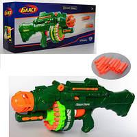 Автомат Бластер детское оружие, с прицелом, мягкие пули, аккумулятор