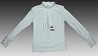 Красивая трикотажная блузка для девочки от Sasha
