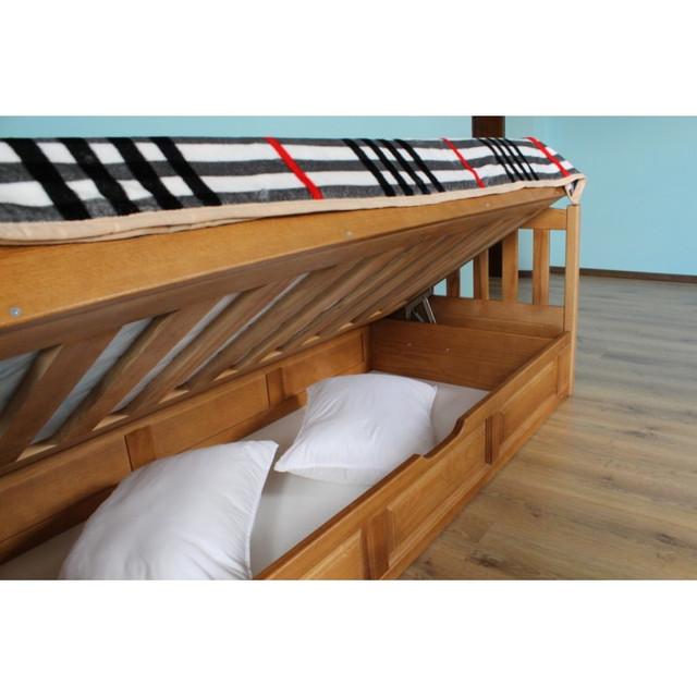 детская кровать из бука