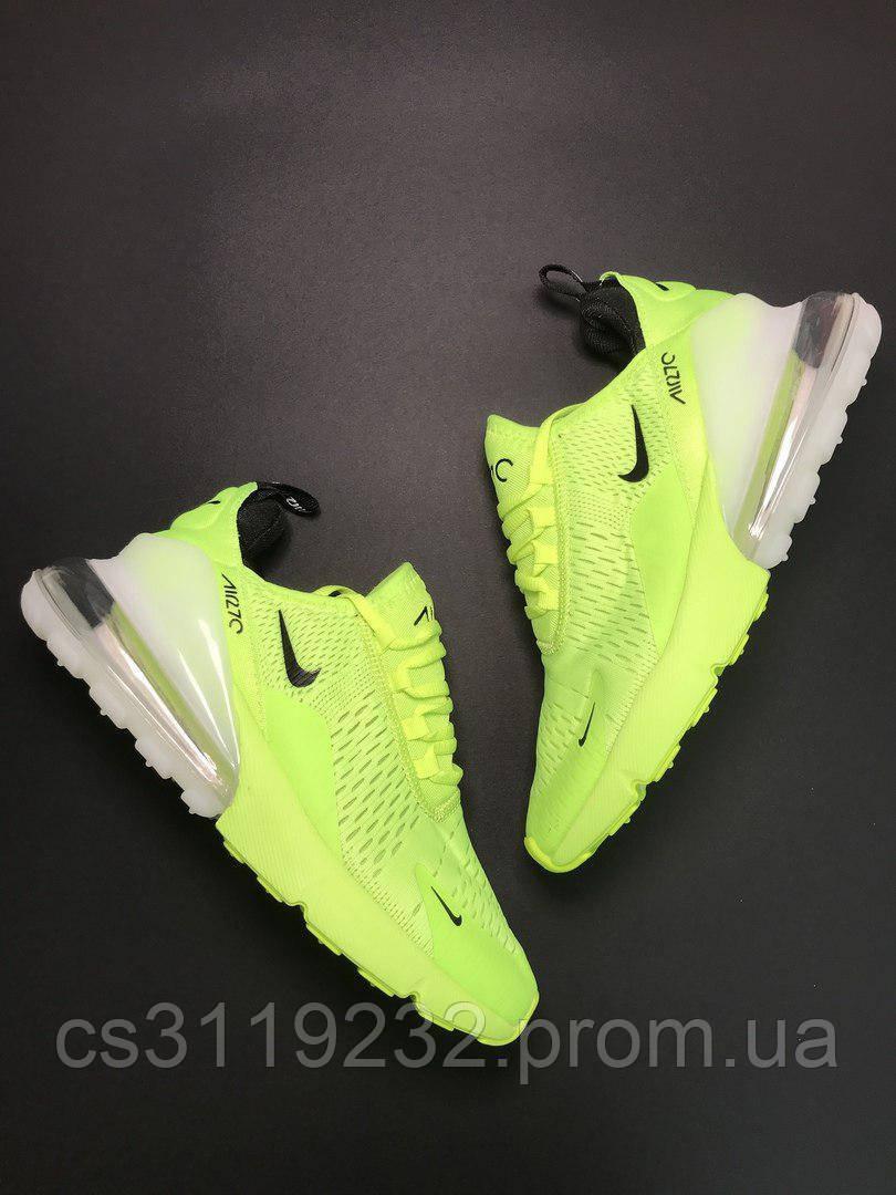 Мужские кроссовки Nike Air Max 270 (салатовые)