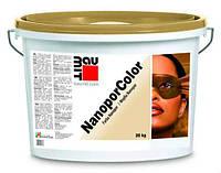 Нанокраска Baumit NanoporColor 24кг