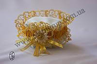 Подвязка золото/серебро, фото 1