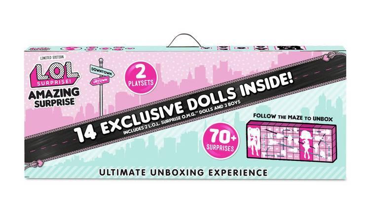 Игровой набор НОВИНКА L.O.L. Surprise 14 кукол+ 70 сюрпризов MGA 559764