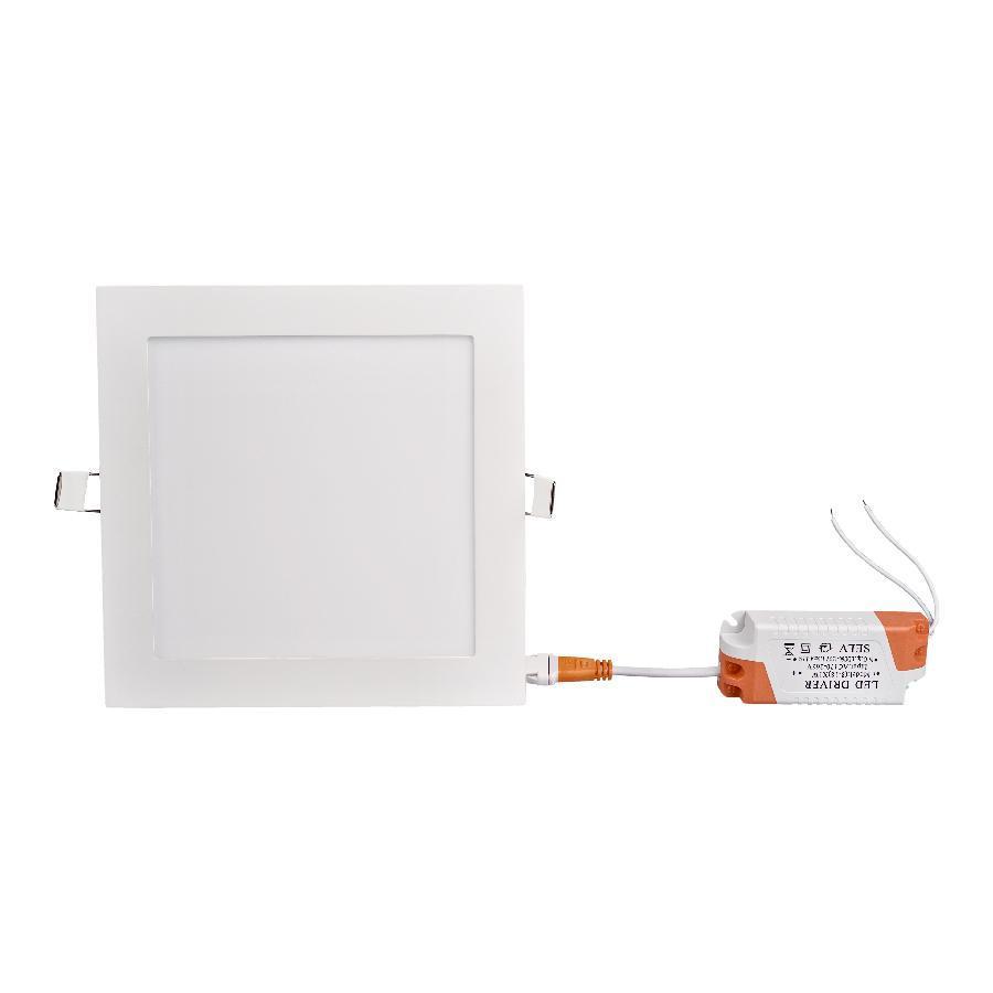 Светильник точечный врезной ЕВРОСВЕТ 12Вт квадрат LED-S-170-12 6400К