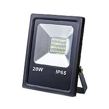 Прожектор светодиодный ЕВРОСВЕТ 20Вт 6400К EV-20-01 1400Лм SMD