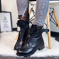 Ботинки женские черные 5133