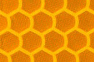 Призматична відображає жовта плівка (соти) - ORALITE 5900 High Intensity Prismatiс Grade Yellow 1.235 м