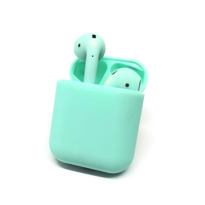Беспроводные Bluetooth наушники HBQ V8 TWS Bluetooth 5.0 зеленые
