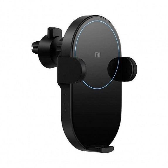 Автодержатель для телефона   Car Phone Holder Xiaomi Mi Qi Wireless Charger 20W Пластик