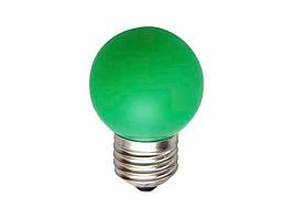 Лампа E-27 Bulb Зелёная 1 Вт - 189801