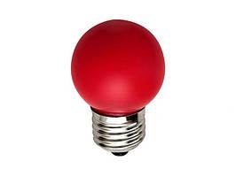 Лампа E-27 Bulb Красная 1 Вт - 189802