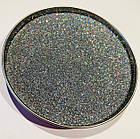 Глиттер  серебро галографическое TL001-128, 150мл, фото 2
