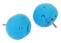 Полировальный шар на дрель полутвёрдый для дисков и пр, фото 1