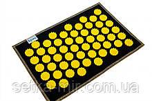 Коврик массажно-аккупунктурный mini 32х21 см Желтый