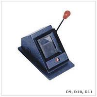 Высечка для визиток 54 x 86 mm (D-011)