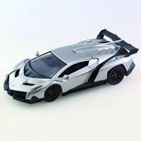 Автомобиль радиоуправляемый Lamborghini Veneno голубой 1:16