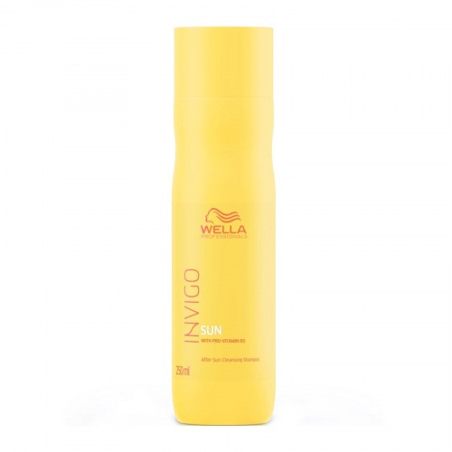Wella Sun Cleansing Shampoo Очищаюший шампунь для волос после солнца 250 мл