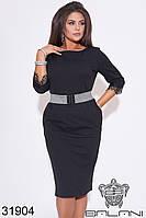 Нарядное платье  -31904  черный с 48 по 62  размер (бн)