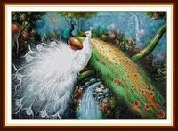Райские птицы (павлины) Набор для вышивки крестом