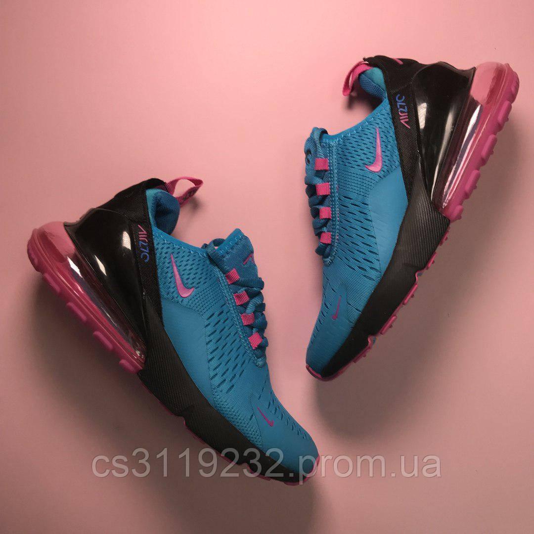 Женские кроссовки Nike  Air Max 270 (синие)
