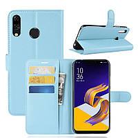 Чехол-книжка Litchie Wallet для Asus Zenfone 5 / 5Z(ZE620KL / ZS620KL) Голубой