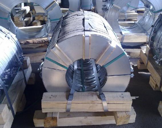 Лента стальная упаковочная (штрипс)