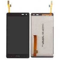 Дисплей HTC Desire 600/606W+сенсор чёрный