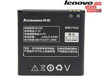 Батарея (акб, аккумулятор) BL201 для Lenovo A60, Lenovo A60 Plus, 1500 mah, оригинал