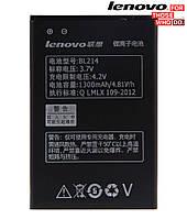 Батарея (акб, аккумулятор) BL214 для Lenovo A238T IdeaPhone, 1300 mAh, оригинал