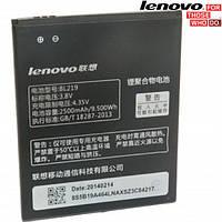 Батарея (акб, аккумулятор) BL219 для Lenovo A850 IdeaPhone, 2500 mAh, оригинал