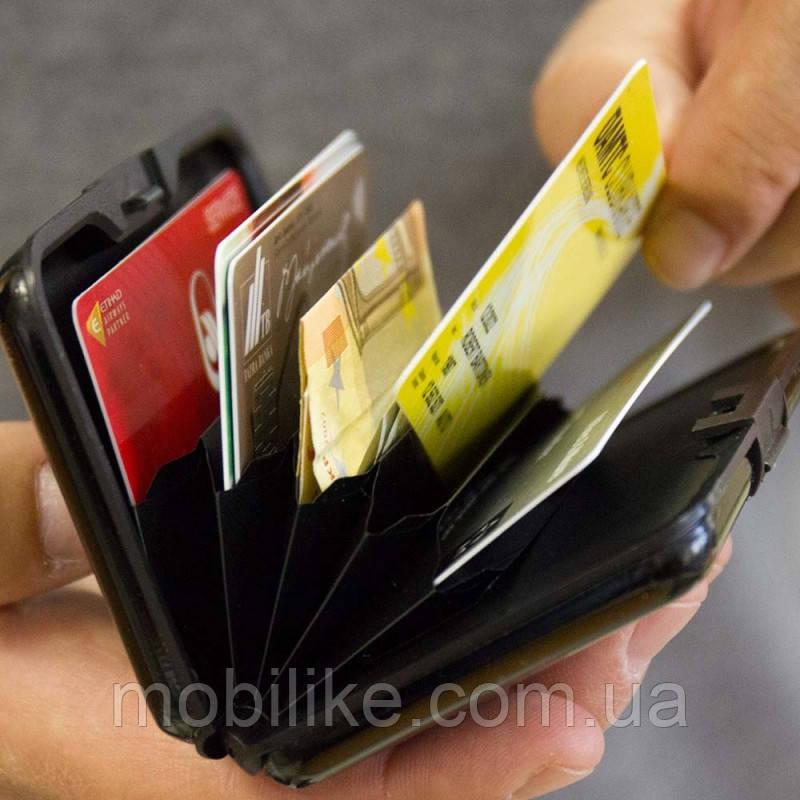 Кошелек Power Bank E-Charge Wallet 10 000mAh Черный