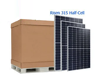10,0.8 кВт сонячних батарей Risen - RSM60-6-315M Half-Cell ( 32шт )