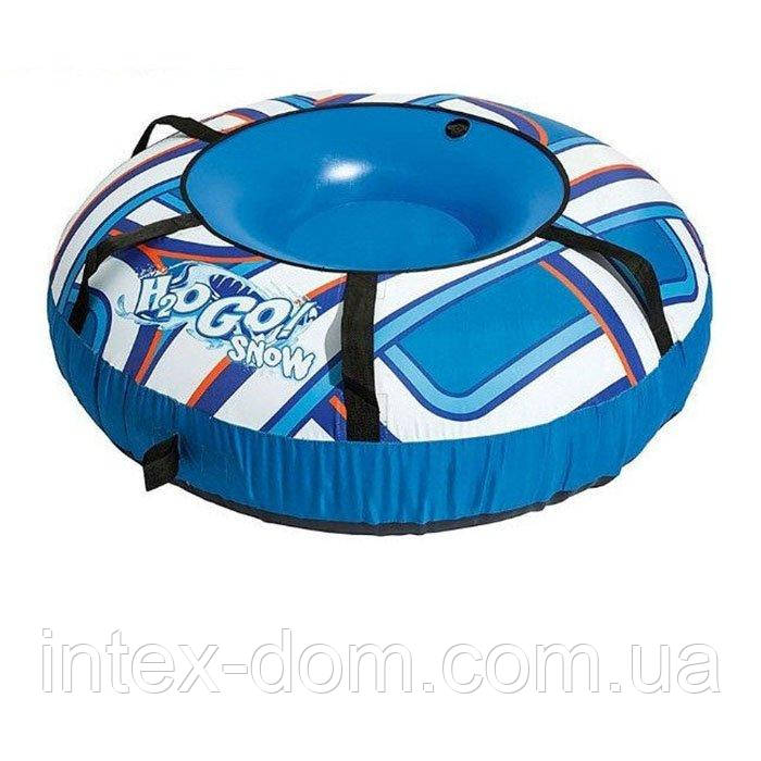 Одноместный надувной сани - тюбинг для катания Bestway 39055, 127 см
