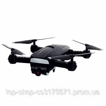 Квадрокоптер с камерой HD черный
