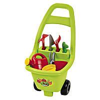 """Тележка садовника """"Гарден"""" 51см с садовыми инструментами, Ecoiffier 18м+ (000479)"""