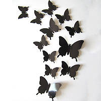 Интерьерные наклейки Бабочки 3D, фото 1