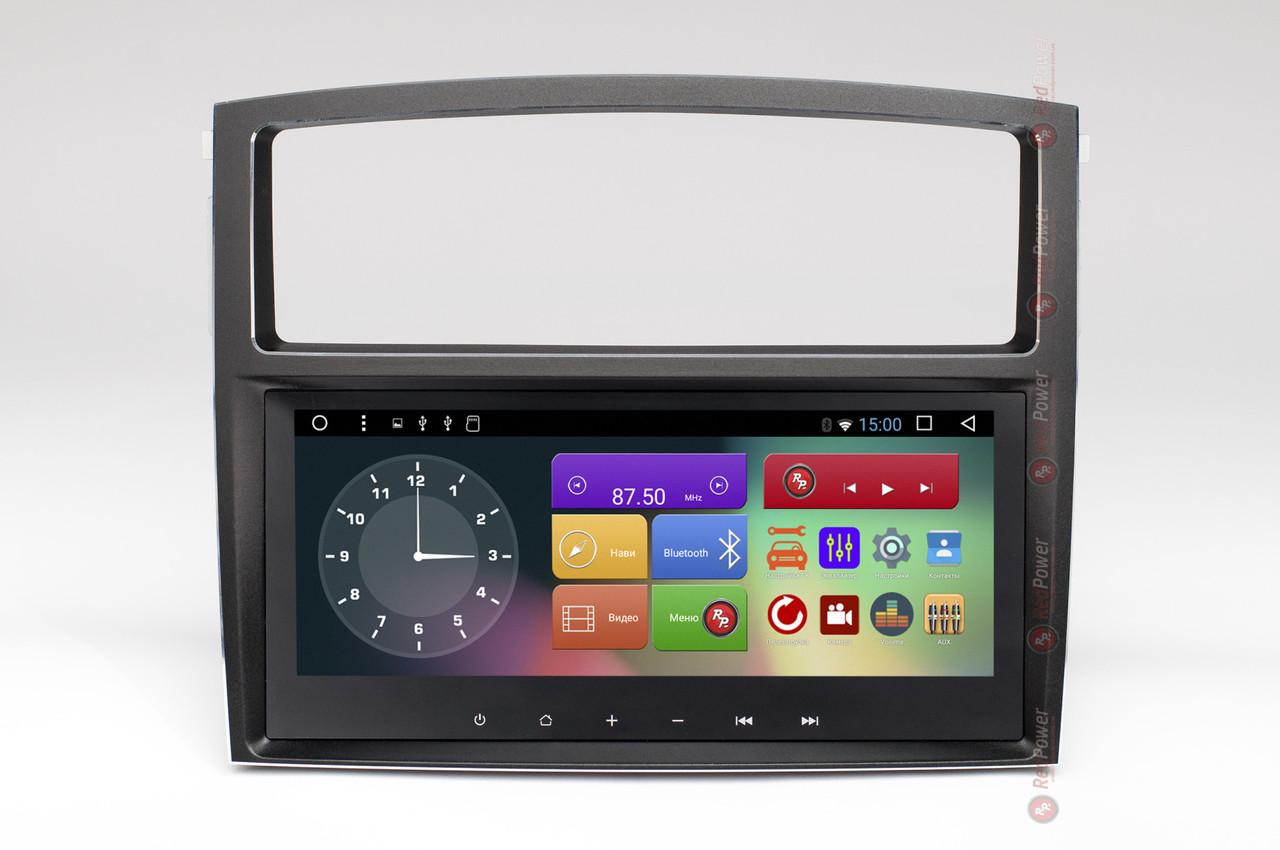 Штатная автомагнитола Redpower RP51223IPS DSP для Mitsubishi Pajero Wagon IV Android 7.1.1 (Nougat)